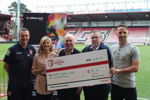 Cherries Community Fund donates first funds into local community